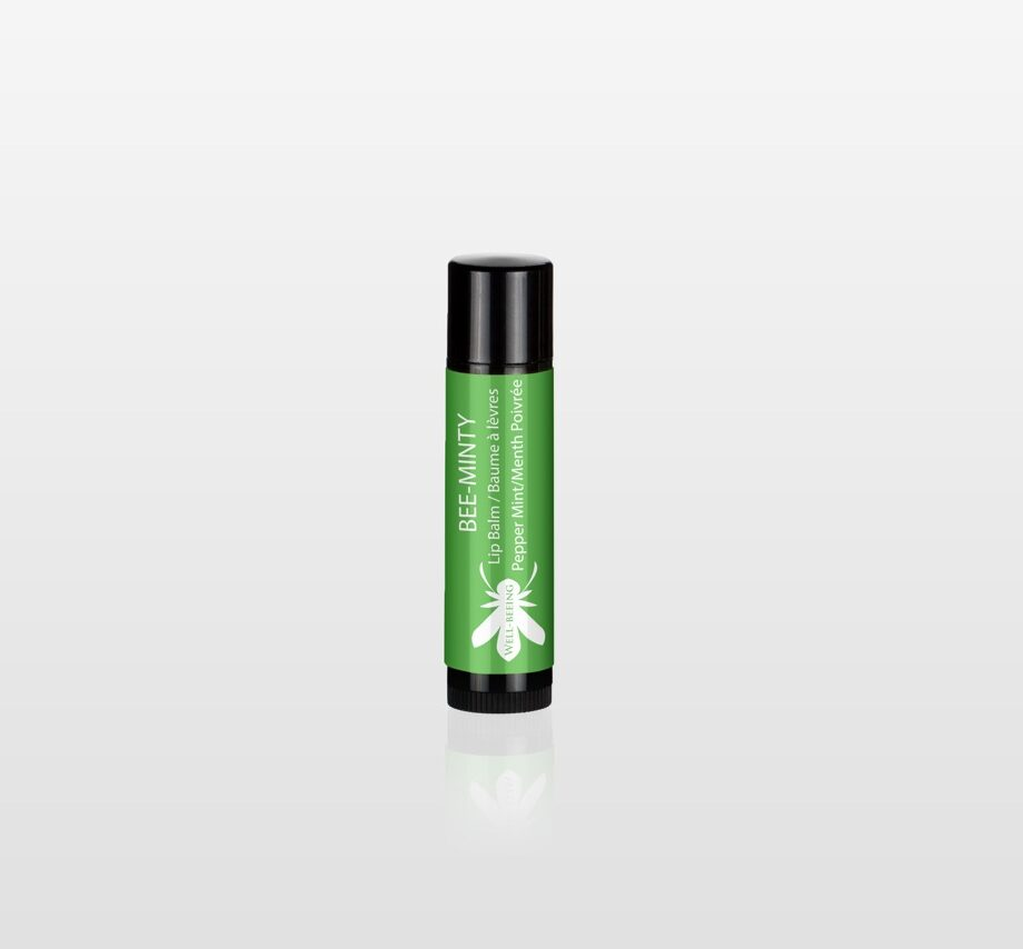 Bee Minty Pepper mint lip balm
