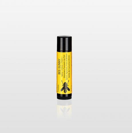 Bee-Sunny Shimmery Turmeric Lip Tint.