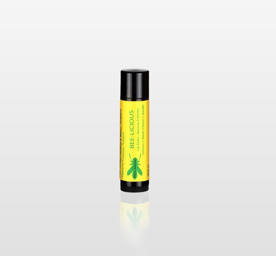 Bee-licious Lemon Basil Lip Balm