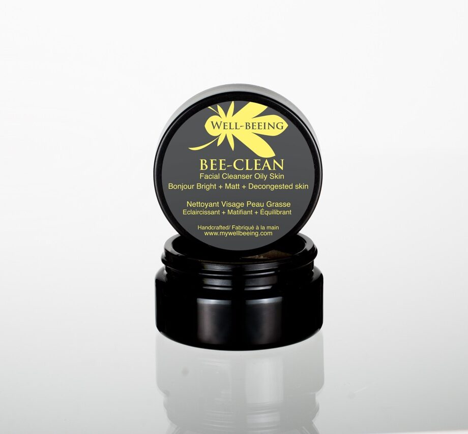 Bee-Clean Facial Cleanser for oily t-zone skin